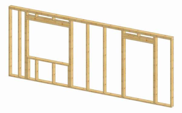 Konstrukcja ściany (Rys. 1)