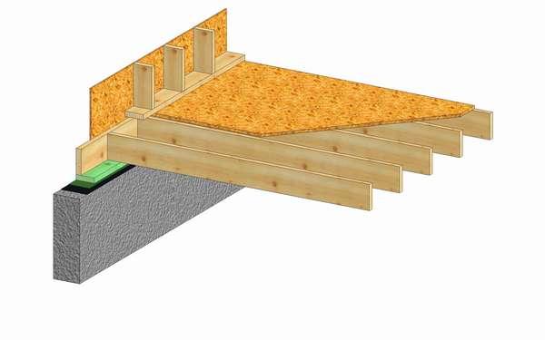 Konstrukcja stropu na pustką podpodłogową (Rys. 4)