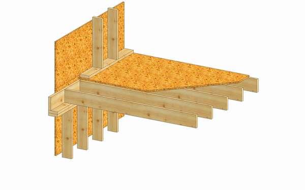 Konstrukcja stropy międzykondygnacyjnego (Rys. 5)