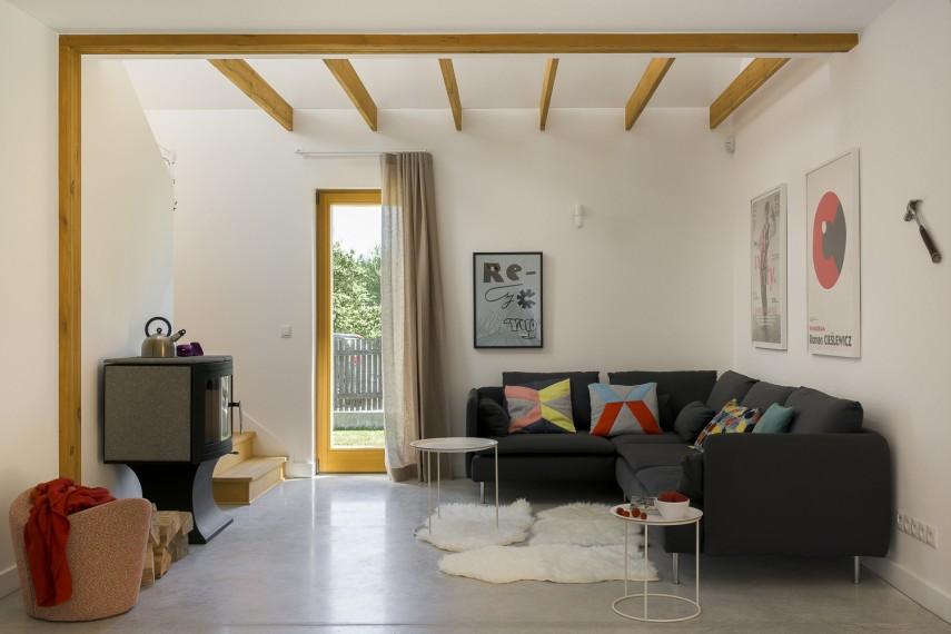 Simple House - salon