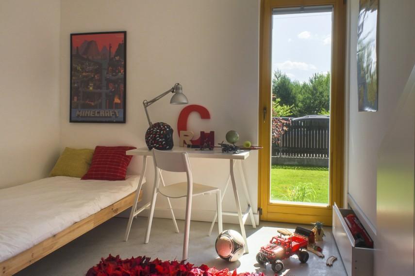 Simple House - sypialnia na dole